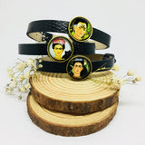 Frida Kahlo Bracelet - Girl Leather Bracelet