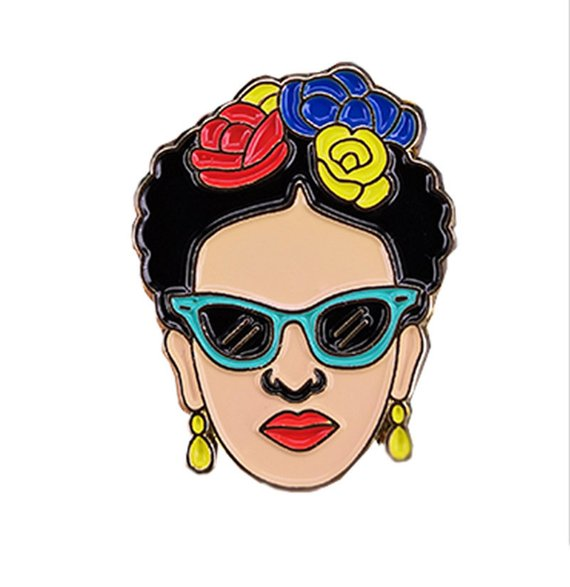Frida Kahlo Pin - Summer Jewelry Frida Inspired Accessories