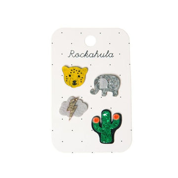 Pasadores Wild Animals Set Rockahula