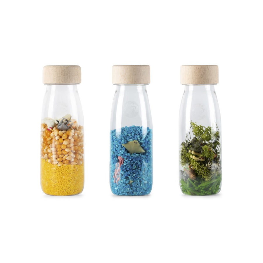 Botella Sensorial - Pack de 3 - Nature