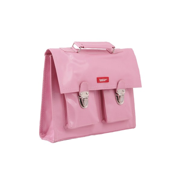 Bakker made with love Mini Mochilas Retro de Vinilo pink