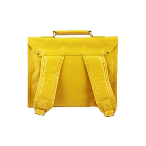 Bakker made with love Mini Carteras Retro de Vinilo Yellow