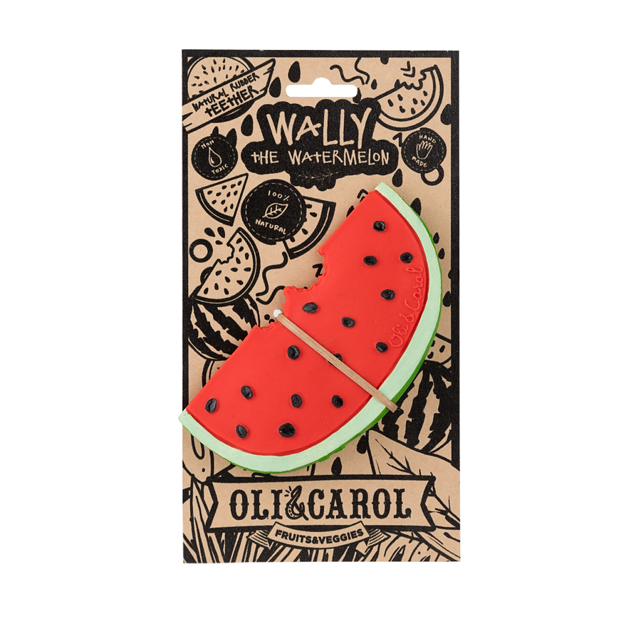 Wally the Watermelon (caucho natural)