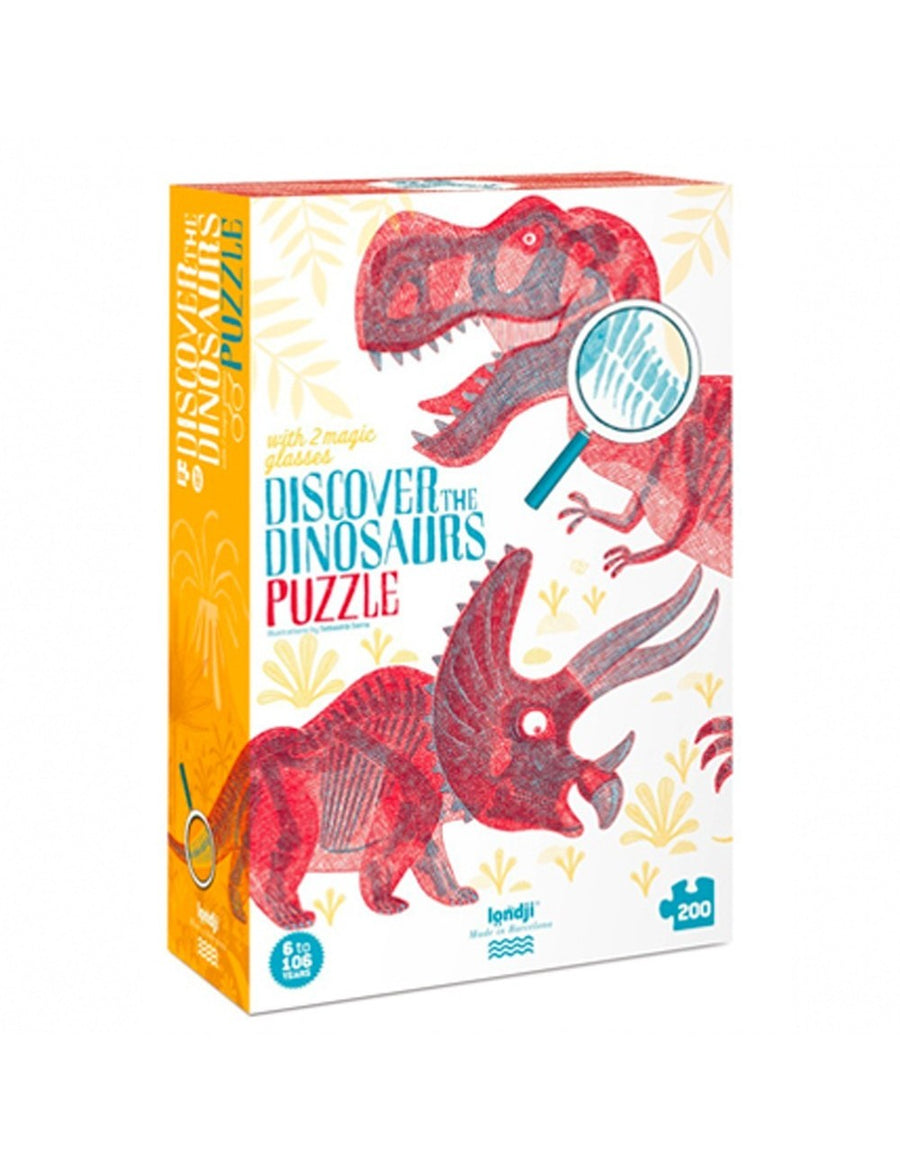 PUZZLE DISCOVER THE DINOSAURS 3D