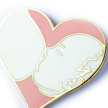 Load image into Gallery viewer, Breastfeeding Love Enamel Pin