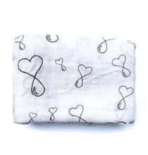 Load image into Gallery viewer, Liquid love baby square swaddle blanket