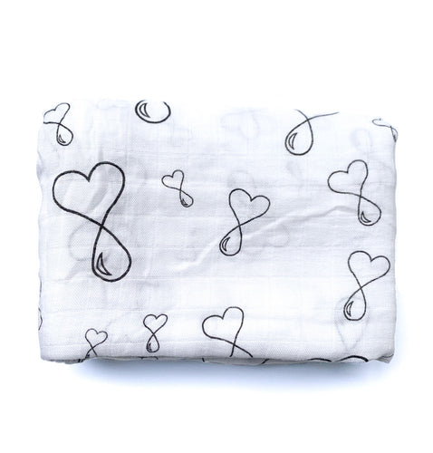 Liquid love baby square swaddle blanket