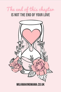 Not The End Of Your Love Enamel Pin