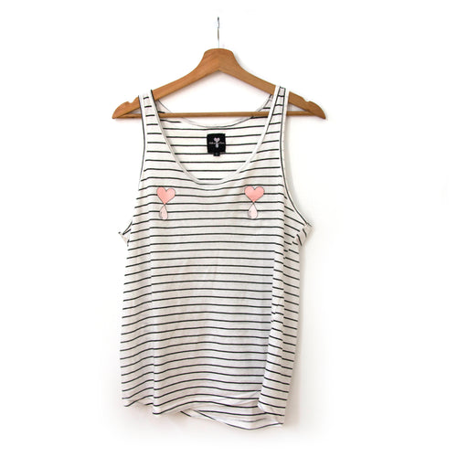 Striped Liquid Love Tank Top