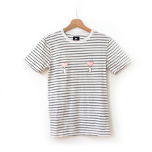 Load image into Gallery viewer, Striped Liquid Love Tee