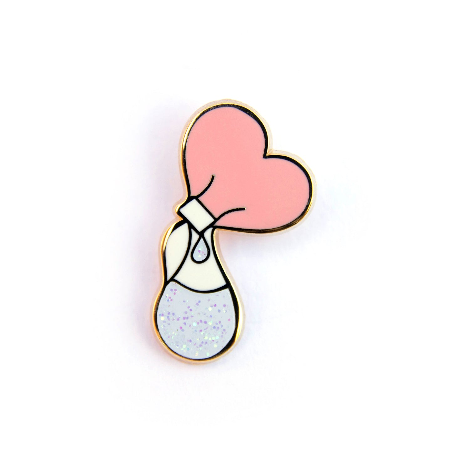Pumping Liquid Love Enamel Pin