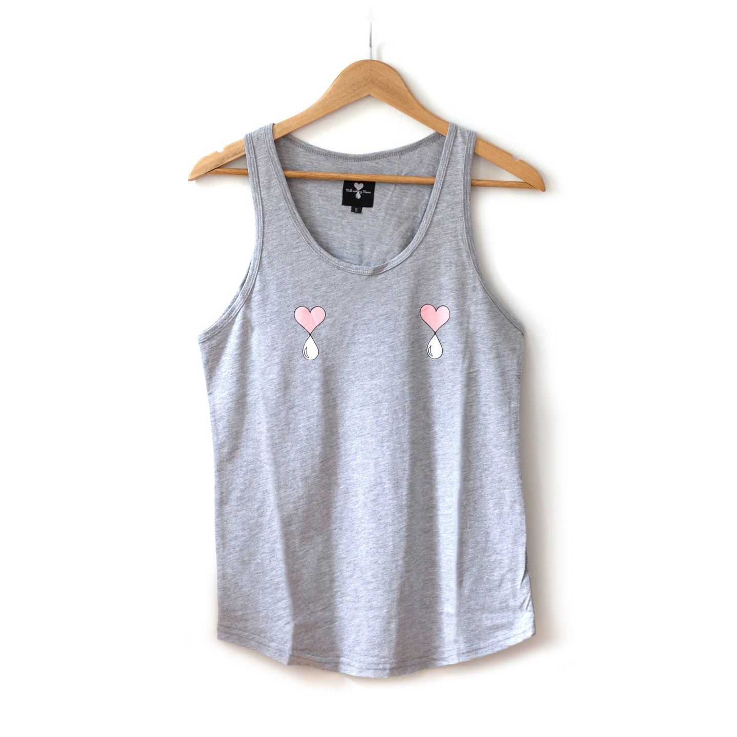 Heather Grey  Liquid Love Tank Top