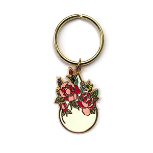 Every Drop Means Growth Keyring