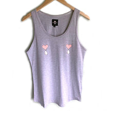 Load image into Gallery viewer, Heather Grey  Liquid Love Tank Top