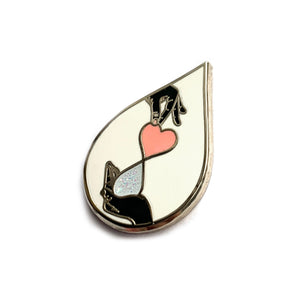Giving Liquid Love Pin