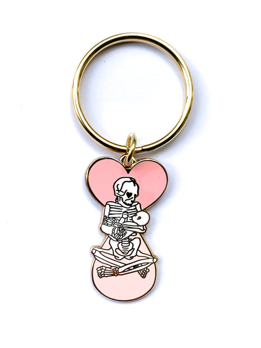 Liquid Love till I Drop Keychain