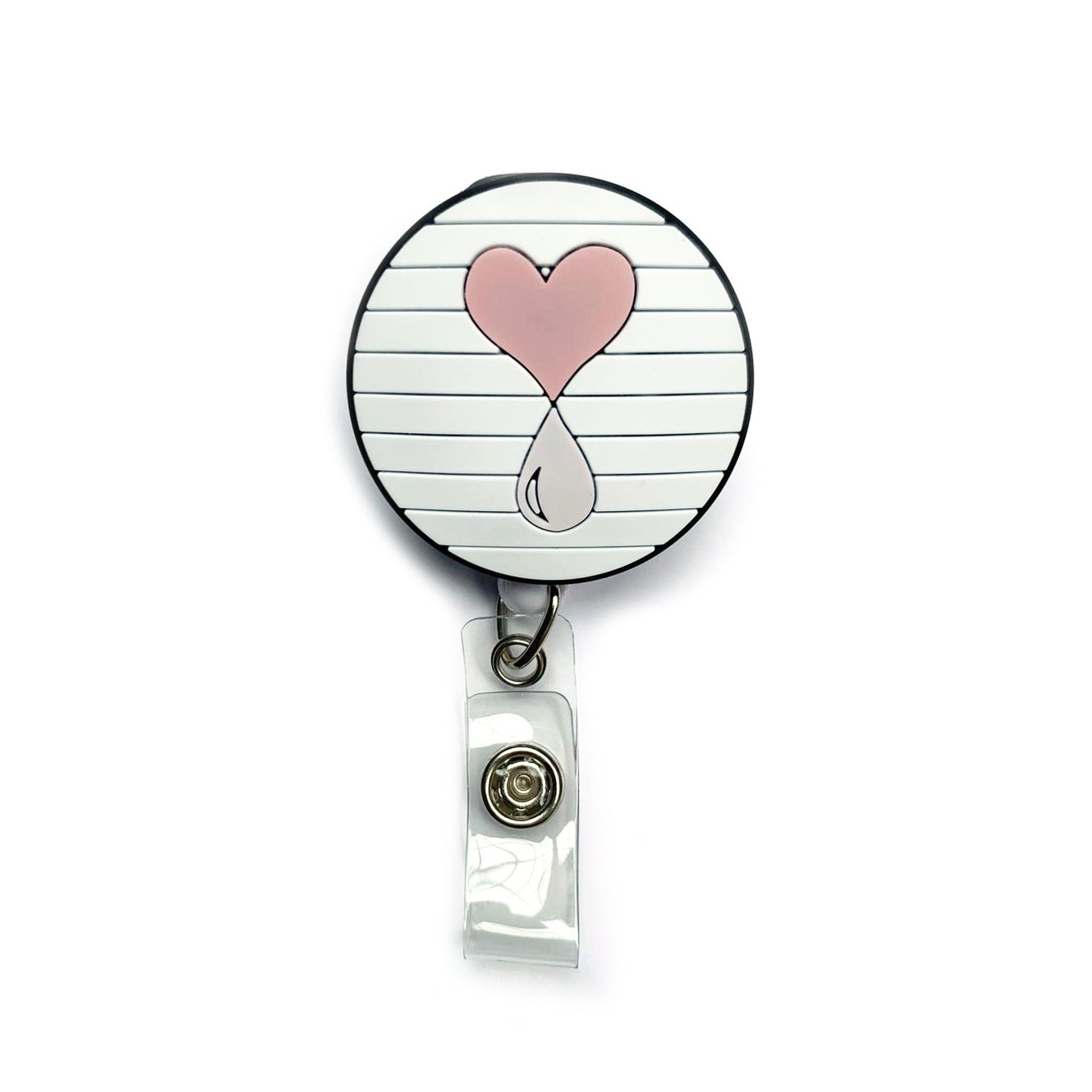 Liquid Love Retractable Badge Holder