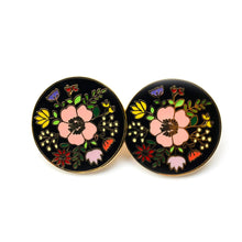 Load image into Gallery viewer, Together We Grow - Floral Boobies Enamel Pin