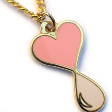 Load image into Gallery viewer, Liquid Love Enamel Necklace Gold