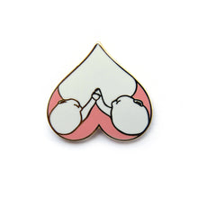Load image into Gallery viewer, Twin Nursing Love Enamel Pin