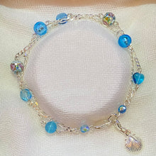 Load image into Gallery viewer, Bunkers Ocean Blues 2 Strand Bracelet