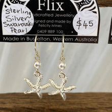 Load image into Gallery viewer, Sterling Silver Starfish