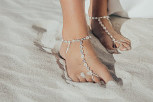 Beach Boho Glam Luxury Barefoot Sandal