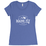 Women's Scoop Neck T-Shirt - Maine Fly Company