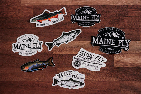 Sticker Bundle - Maine Fly Company