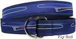 Fly D-Ring Ribbon Belts - Maine Fly Company
