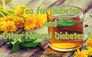 Teas and Other Natural Diabetes Aids
