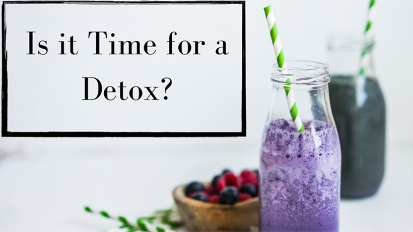 5 Signs It's Time for a Detox