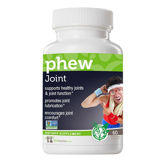 Joint... phew™ Herbs For Joint Relief - BioTerra Herbs Bottle