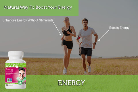 Energy… boing™ Herbal Supplement