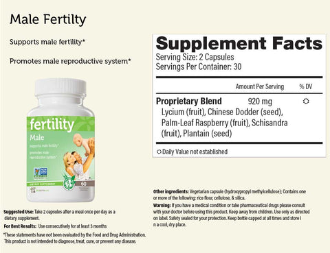 Male... fertility™ Herbal Supplement