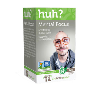 Mental Focus herbal supplement all natural ingredients non gmo