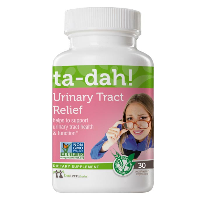 Urinary Tract Relief ... ta-dah! Herbal Supplement