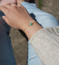 Load image into Gallery viewer, TURQUOISE EVIL EYE BRACELET - AALIA Jewellery