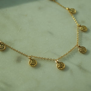 MINI COIN NECKLACE - AALIA Jewellery