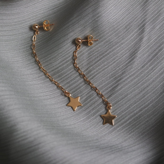 STAR DROP EARRINGS - AALIA Jewellery