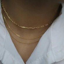 Load image into Gallery viewer, Thick Gold Chain Necklace