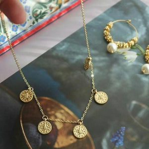 GOLD OTTOMAN COIN NECKLACE - AALIA Jewellery