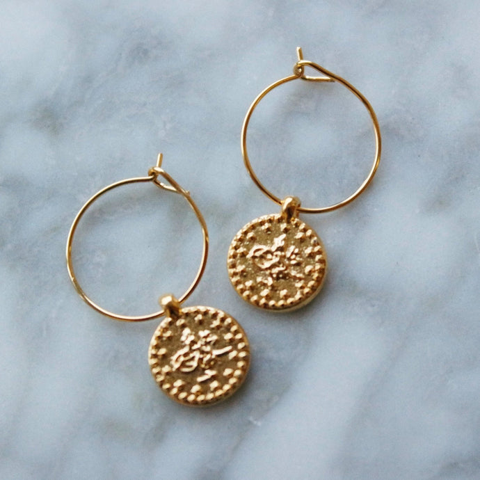 MINI OTTOMAN HOOPS - AALIA Jewellery