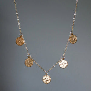 GOLD OTTOMAN COIN NECKLACE