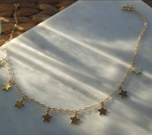 Load image into Gallery viewer, GOLD STAR CHOKER - AALIA Jewellery