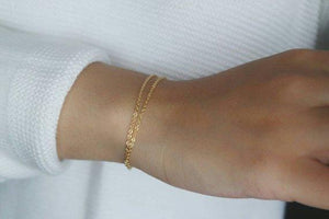DOUBLE LAYER BRACELET - AALIA Jewellery