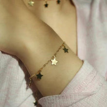 Load image into Gallery viewer, GOLD STAR BRACELET - AALIA Jewellery