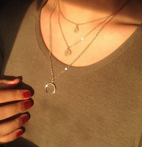 MOON NECKLACE - AALIA Jewellery