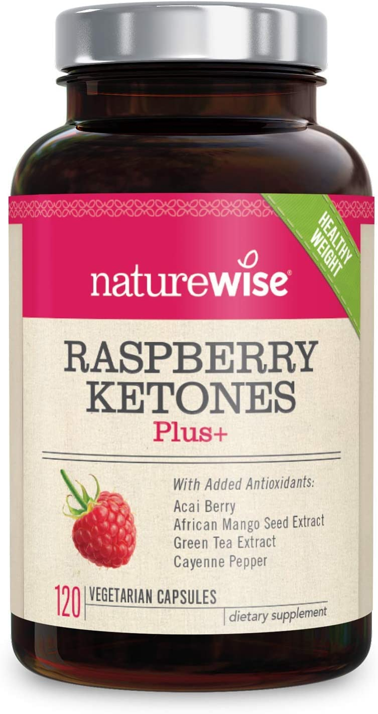 NatureWise Raspberry Ketones Plus | Advanced Weight Loss & Appetite