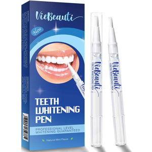 VieBeauti Teeth Whitening Pen(2 Pcs), 20+ Uses, Effective, Painless, No Sensitivity